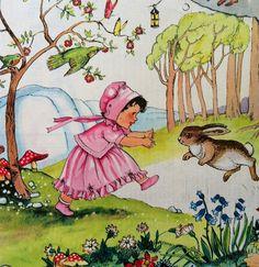 Vintage pixie o'harris illustration