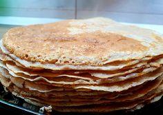Fitness palacsinta | sokiklau receptje - Cookpad receptek Pancakes, Food And Drink, Breakfast, Ethnic Recipes, Fitness, Waffles, Morning Coffee, Pancake, Crepes