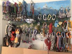 Organizing climbing gear
