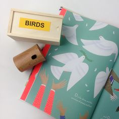 Bird calls & Beautiful Birds book moonpicnic.com
