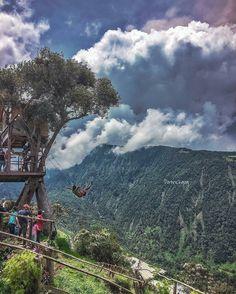 #ColumpiodelFindelMundo #CasadelArbol  #BañosdeAguaSanta  Vive tu mejor #aventura con #Rutaviva la  #FamiliaViajeraEcuador .  Los mejores #HOTELES DESTINOS y SERVICIOS encuéntralos en http://ift.tt/2nuTUfm Photo: @patrickgog  #EcuadorNow#ViajaPrimeroEcuador#FeelAgainInEcuador  #Ecuador  #allyouneedisecuador #travelblogger#paisajesecuador #mochileros #natgeotravel#SoClose #LikeNoWhereElse #amor  #AllInOnePlace#instatravel #TraveltheWorld #primerolacomunidad#World_Shots #live #familiaviajera…