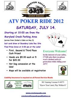 Crestone Valley ATV Poker Ride - don't miss it !