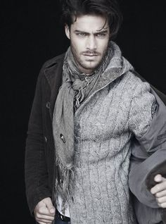 Looking especially hot dressed all in grey there Mr 50 Shades.