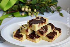 PRAJITURA CU BRANZA DULCE SI NUTELLA - Rețete Fel de Fel Nutella, Princess Cupcakes, Biscuit, Waffles, Pudding, Muffins, Sweets, Meals, Cookies