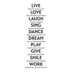 Live Laugh Love Quotes, Happy Life Quotes, Dream Quotes, Love Quotes For Him, Quotes To Live By, Best Quotes, Positive Quotes For Work, Work Quotes, Positive Life