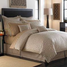 kuba cloth inspired bedding