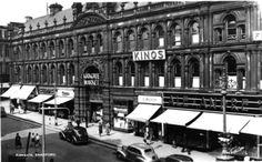 Old Kirkgate market Bradford -
