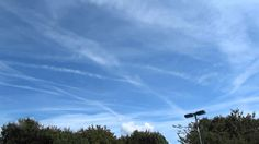 Government Chemtrails And Poison Cover The Sky