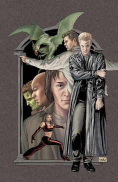 Angel & Spike - Buffy the Vampire Slayer - Joe & Rob Sharp