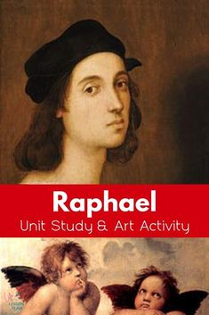 Raphael was one of the three great masters of the Italian Renaissance. Learn about his life and works with a free art history lesson and fun hands-on activity! #art #artist #history #homeschool