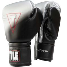 Title Platinum Proclaim Power Bag Gloves, Black
