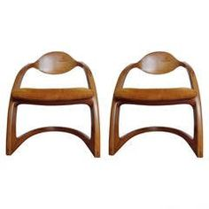 Pair of Wendell Castle Zephyr Chairs