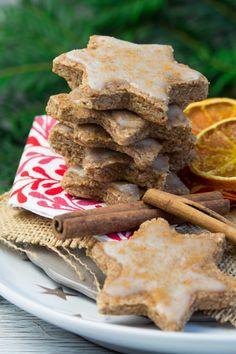 Vegan Orange Cinnamon Christmas Cookies