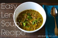 This lentil soup recipe is a nutritional powerhouse. It combines the nutrients, protein, good carbs & fiber in lentils with the antioxidant power of veggies