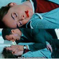 A bloodied and pregnant Ana lies unconscious after her attack from her former boss Jack Hyde Fifty Shades Cast, 50 Shades Trilogy, Fifty Shades Series, Fifty Shades Movie, 50 Shades Freed, Fifty Shades Darker, Fifty Shades Of Grey, Don Johnson, Dakota Johnson