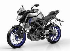 Yamaha MT 125 Race Blu