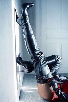 Thigh Boots & Stilettos