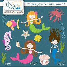 Dilek Cute Mermaid by Dilek Design Studio 6.00
