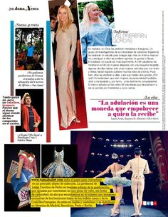 en YO DONA  Estreno Revista Danza Ballet  Julio/agosto 2011