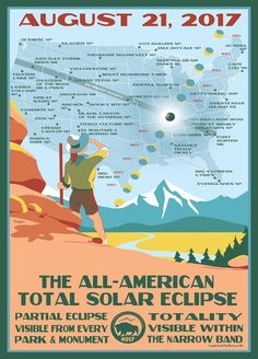 All-American Total Solar Eclipse poster