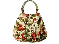 Strawberries handbag