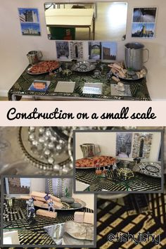 My new discovery area. Small scale construction with a castle twist.