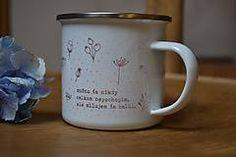 Slovakia design enamel cup Ale, Enamel, Mugs, Retro, Business, Tableware, Design, Vitreous Enamel, Dinnerware