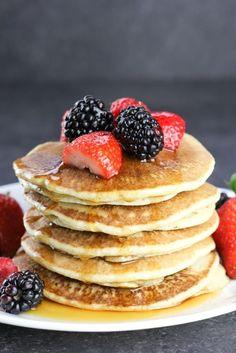 Best Gluten Free Buttermilk Pancakes (Dairy Free) - Veggie Balance