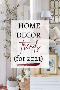 Home Decor Trends For 2022