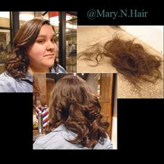 """Long haircuts with layers.  Took 3""""-4""""s off and removed alot of bulk. #yxe #yxehair #yxesalon"""