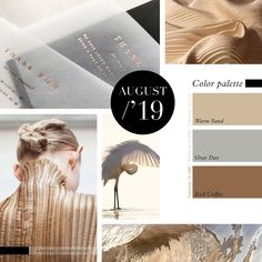 Pantone Colors: Warm Sand, Gray Day, Iced Coffee. -- Follow Paper Couture Studio on Instagram and Facebook! @papercouturestudio --