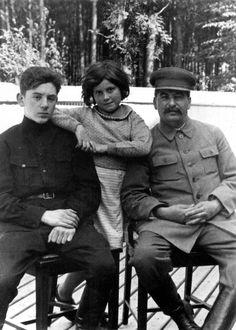 Василий  и  Светлана  с  отцом.