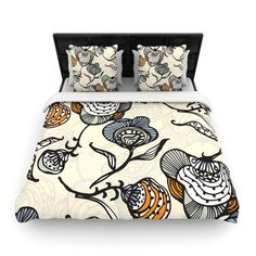 Found it at Wayfair - Future Nouveau by Gill Eggleston Woven Duvet Cover