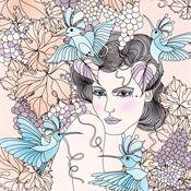 Ella Tjader Illustration Portfolio – Fashion, Art and Nature Illustrator Fantasy Drawings, My Drawings, Botanical Fashion, Book Illustration, Illustrators, Boutique Hotels, Fashion Illustrations, Fashion Art, Artist
