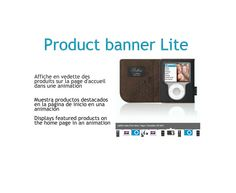 New free #prestashop module for home products: Product banner lite http://catalogo-onlinersi.net/en/prestashop-modules/62-productbanner-prestashop-module.html