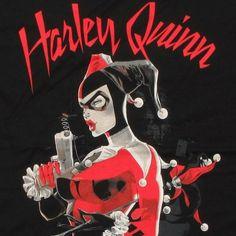 Harley Quinn Gun T Shirt Sheer