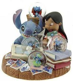 Disney Lilo & Stitch Photo Album Snowglobe