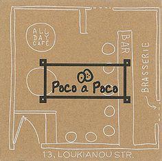 Poco a Poco Cafe Bar, Paper Shopping Bag, Day