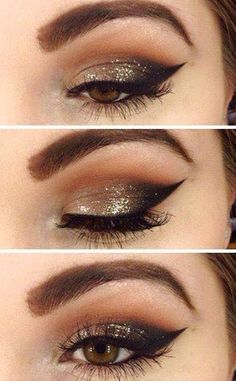 Evening Eye Makeup 27 Pretty Makeup Tutorials For Brown Eyes Styles Weekly Evening Eye Makeup Closeup View Of Woman Eye With Evening Makeup Stock Image Image Of. Evening Eye Makeup 27 Pretty Makeup Tutorials For Brown Eyes St. Evening Eye Makeup, Party Eye Makeup, Gold Eye Makeup, Makeup For Brown Eyes, Smokey Eye Makeup, Skin Makeup, Winged Eyeliner, Makeup Emoji, Apply Eyeliner