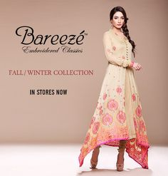 Bareeze Winter Dresses 2013-2014 For Women
