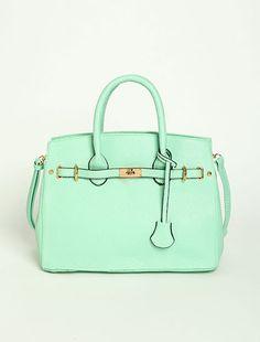 Leatherette Hand Bag
