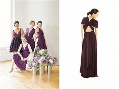twobirds 15-way dress... thinking for the 5 weddings I'll attend in 2012... loving this 'plum,' but the 'stone' and 'sapphire' are gorgeous, too! at Nordstrom's $270
