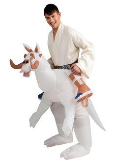 Daddy? Adult Star Wars Inflatable Tauntaun Costume