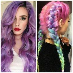 A TENDÊNCIA DOS CABELOS COLORIDOS  http://tatysantos.com.br/tendencia-cabelos-coloridos/
