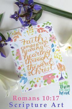 Bible Verse Wall Art, Scripture Art, Christian Cards, Christian Gifts, Party Items, Party Gifts, Printable Art, Printables, Christian Apparel