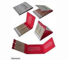 Neat idea for a #brochure.