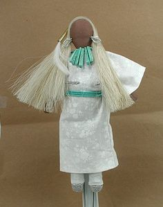 Native American Lakota no face doll Winter by Diane Tells His Name