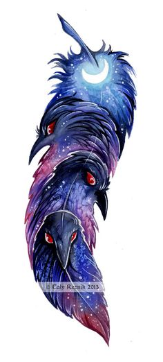 Ravenfeather by TrollGirl on deviantART