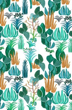 Cactus Print by Justina Blakeney