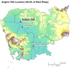 Where is Angkor Vat Situated? History of the Biggest Ancient Hindu Temple in the World situated in Cambodia :: #Angkor #Wat http://amipsyche.com/angkor-wat.html